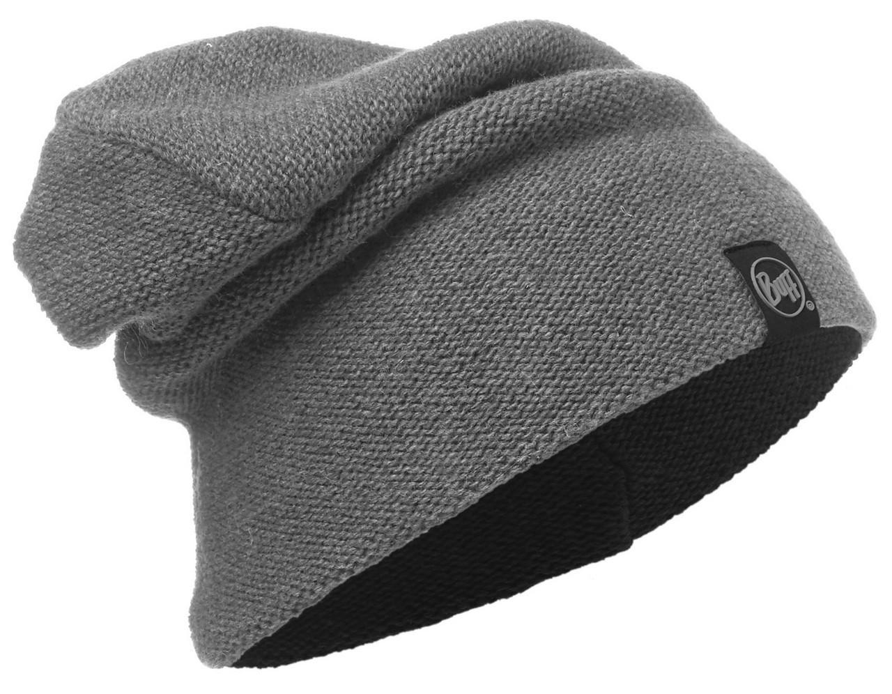 Вязаная шапка-бини Buff Colt Grey Pewter