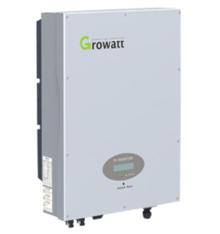 Сетевой инвертор Growatt 5000UE (5 кВ, 3-фазный, 2 МРРТ)