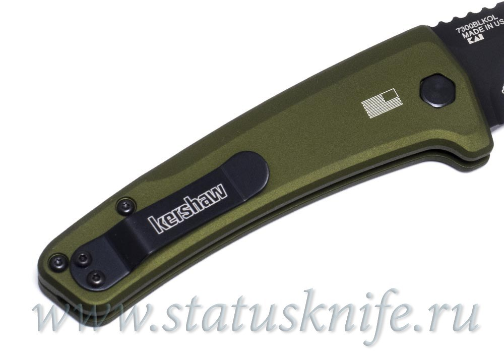 Нож KERSHAW 7300BLKOL Launch 3