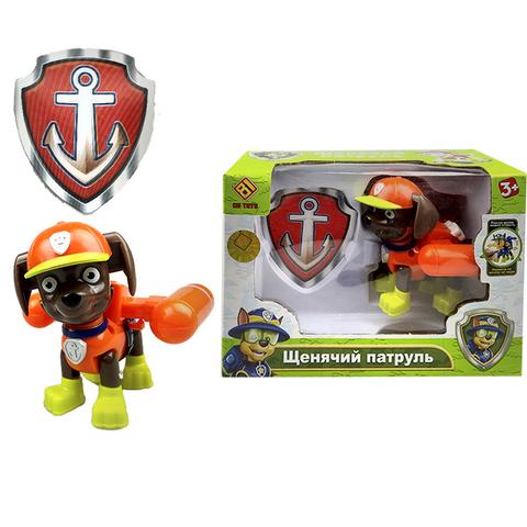Щенячий патруль в индивидуальной упаковке (1 игрушка в комплекте) Зума (Оранжевый) 1кор*1бл*1шт