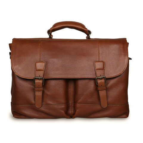 Портфель Ashwood Leather Henry Honey