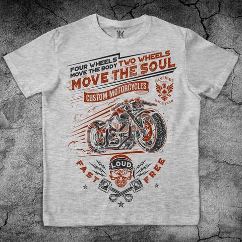 Хлопковая футболка FAST & FREE цвет меланж для пауэрлифтинга, для зала, фитнеса, стиль жизни