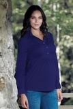 Блузка для беременных 01323 зеленый