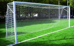 Ворота футбольные стационарные 7.32 х 2.44 м (пара).