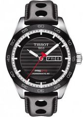 Мужские швейцарские  часы Tissot T100.430.16.051.00 PRS 516 Powermatic 80