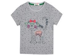 6200-1 футболка детская, серая