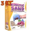 Цветной кинетический песок 3 кг Wabafun