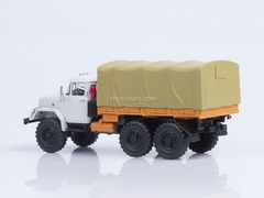 ZIL-131 board with awning Autoexport white-orange 1:43 AutoHistory