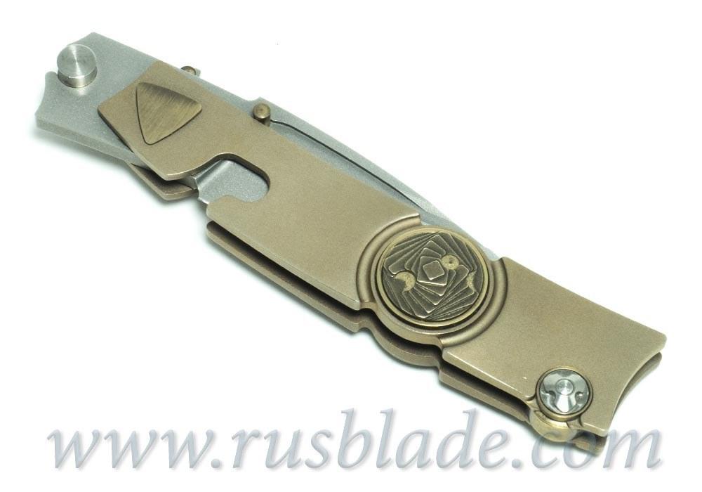 Candiru Bronze by Nikolai Lomachenkov Knives