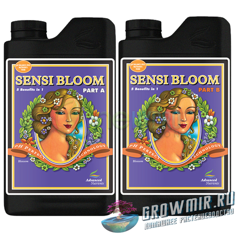 Advanced Nutrients pH Perfect Sensi Bloom Parts A & B   (0.5л)