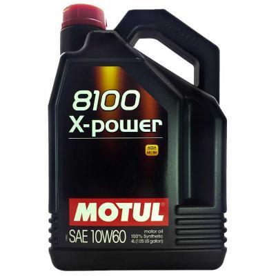 Motul 8100 X-Power SAE 10W60 Синтетическое моторное масло