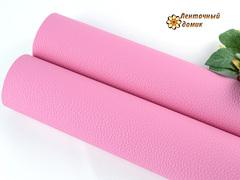 Кожа жемчужная розовая матовая