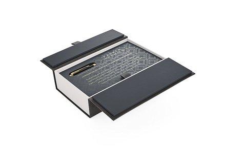 Ручка перьевая Parker Premier Deep Black Lacquer GT123
