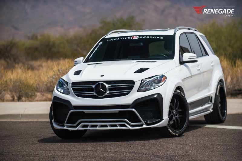 Обвес Renegade Design для Mercedes-Benz GLE