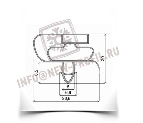 Уплотнитель для холодильника Атлант МХМ-1701 (морозильная камера) Размер 68*56 см Профиль 021