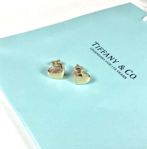 Серьги Gold Tiffany mini