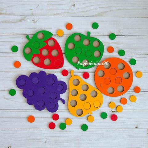Игра мозаика «Фрукты»