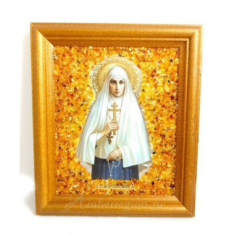 Икона Святой мученицы великой княгини Елисаветы (Елизаветы)