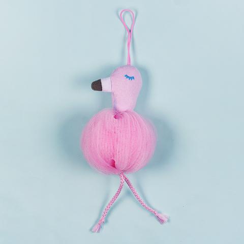 Мочалка Flamingo