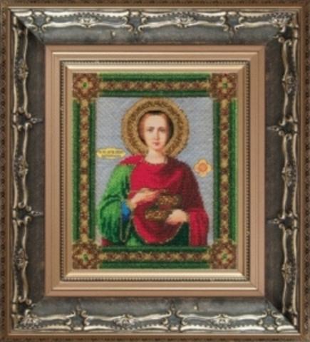Б-1021 Икона великомученика и целитиля Пантелеймона