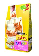 Purina Friskies для котят с курицей и молоком 1,5 кг