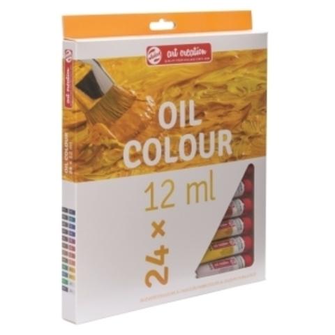 Набор масляных красок Art Creation 24цв по 12мл