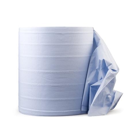 RoxelPro Бумажная салфетка MULTIWIPE, 2-слойная, рул. 1000шт, 33х35см, синяя
