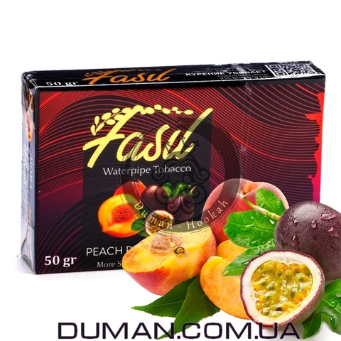 Табак Fasil Peach Passion Fruit (Фасил Персик и Маракуйя)