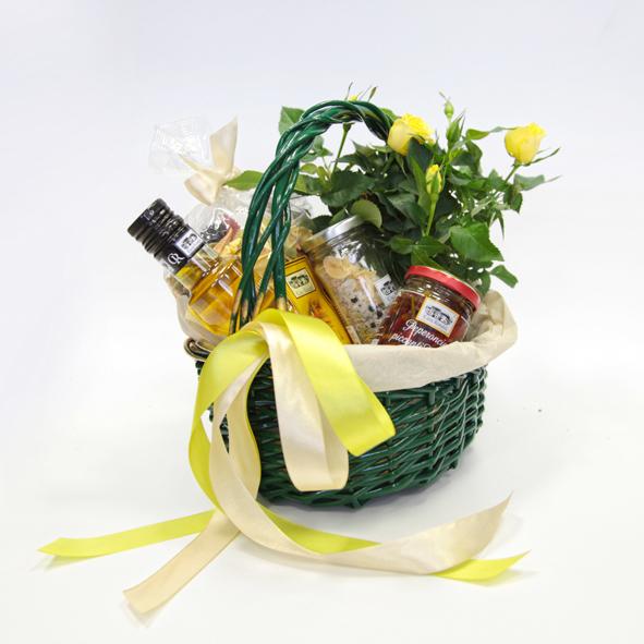Корзинка подарочная, набор продуктов Эстива