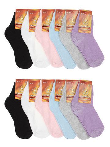 M14 носки женские (10шт), цветные