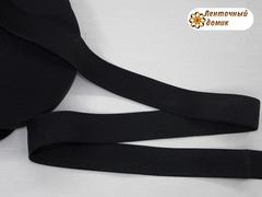 Резинка черная ширина 30 мм