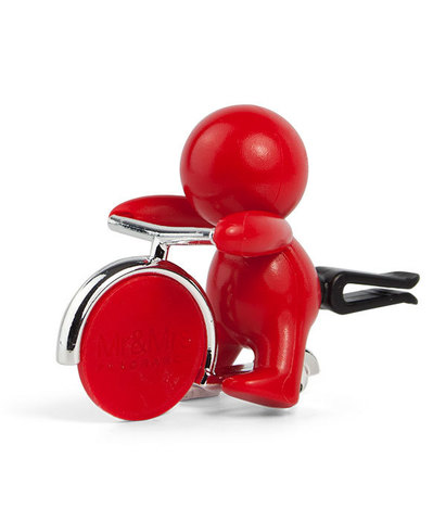 Ароматизатор для автомобиля GINO Перечная мята (красный), Mr&Mrs Fragrance