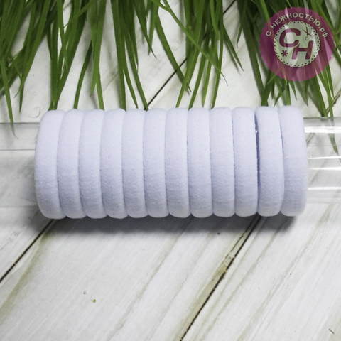 Резинка для волос 3 см, 1 шт.