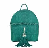 Рюкзак из кожи питона BG-221