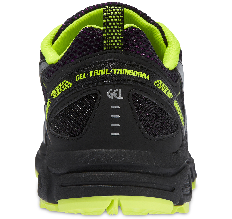 Женские беговые кроссовки внедорожники Asics Gel Trail Tambora 4 (T468N 3393) черные фото