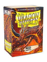 Dragon Shield - Красные матовые протекторы 100 штук