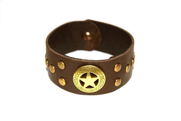Кожаный браслет TRONIN N-67