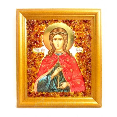 Икона Святой мученицы Иулии (Юлии)