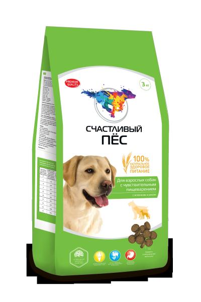 Диетический сухой корм для собак