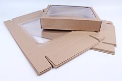 Коробка-трансформер (МГК) Крафт 30х23 h=6 см.