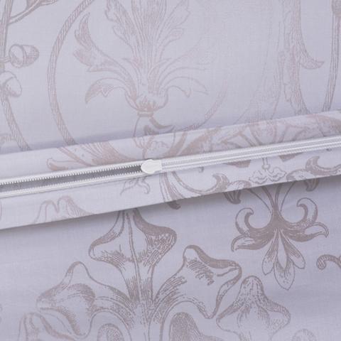 Постельное белье 2 спальное евро макси Estella Svizzera Silber