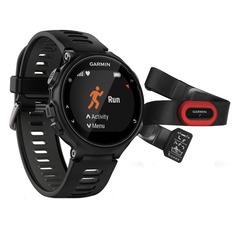 Спортивные часы Garmin Forerunner 735XT 010-01614-15 Черно-серые (HRM-Run)
