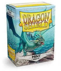 Dragon Shield - Мятно-зеленые матовые протекторы 100 штук