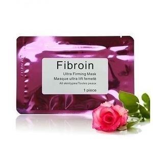 Натуральная омолаживающая органическая лифтинг-маска Fibroin ultra firming mask Роза