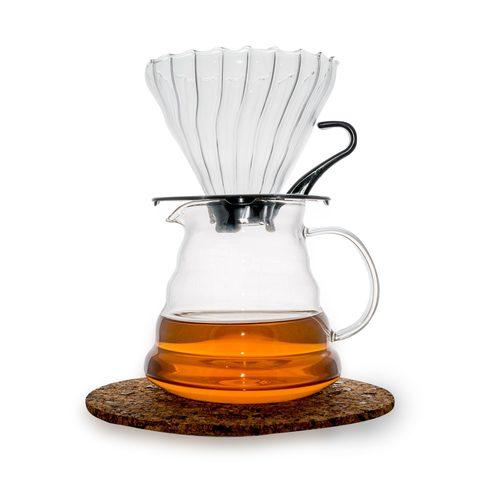 Чайник сервировочный для кофе, 600 мл.