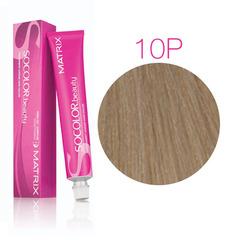Matrix Socolor Beauty 10P очень-очень светлый блондин жемчужный, стойкая крем-краска для волос 90 мл