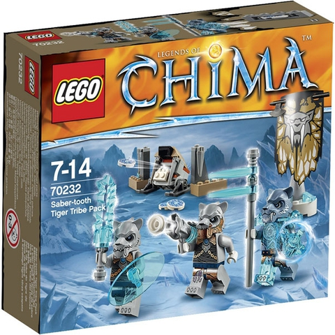 LEGO Chima: Лагерь Клана Саблезубых тигров 70232 — Saber Tooth Tiger Tribe — Лего Чима