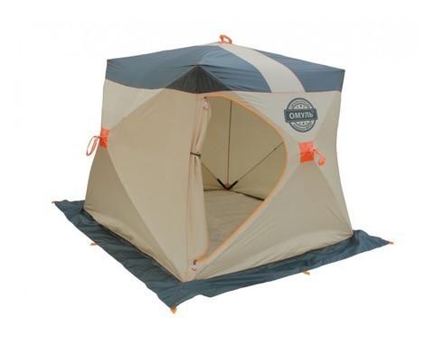 Палатка Омуль Куб 2 с внутренним тентом
