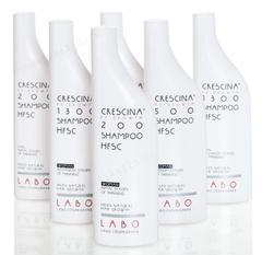 Шампунь для стимуляции роста волос для женщин, 500 (Labo | Crescina Re-Growth shampoo Hfsc + Crescina Anti-Hair Loss HSSC 500), 150 мл