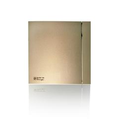 Soler & Palau SILENT 100 CRZ DESIGN-4С CHAMPAGNE (таймер) Вентилятор накладной